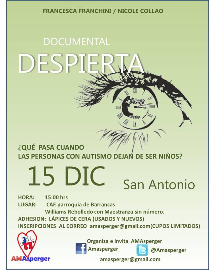 afiche promocional DESPIERTA San Antonio